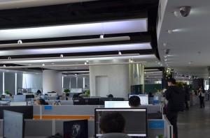 CIO时代APP记者实拍融云总部环境